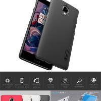 OnePlus Three 3 3T Nillkin Hard Case Casing Cover Hardcase Original