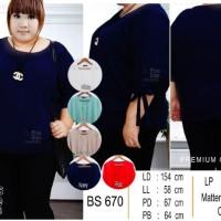 Blouse Wanita Sale -6342- 47ae-670-mr- Red