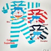 Piyama Anak Baby 1-2Thn Doraemon Baju Tidur Setelan Laki Laki Perempu
