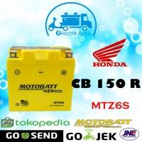Aki Motor Honda CB 150 R Motobatt MTZ6S Aki Kering