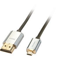 CROMO Slim High Speed HDMI to Micro HDMI Cable with Ethernet, 5m