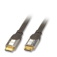 Lindy 41451 CROMO Mini Type C Male/Male with Ethernet, 1m