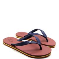 Sandal Panama / Sendal Jepit Pria Merah Bata / Sandal Pantai