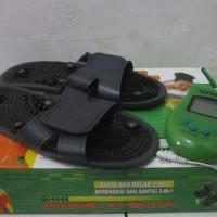 Sandal Pijat Elektrik Sunmas Foot Massager Alat Refleksi Kaki Murah