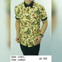 terlaris Baju batik kemeja pria slimfit ob 192 produk baru