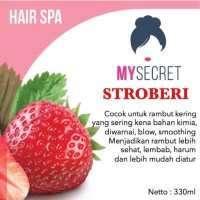 My Secret - Hair Spa Strawberry - Masker Rambut Diskon