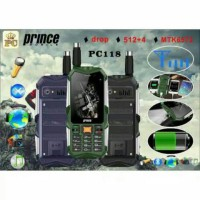 Handphone Murah HP Outdoor Android Powerbank Prince PC118