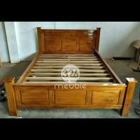 Tempat Tidur Jati Mebel Jepara, Dipan 160x200, Dipan Jati Mebel Jepara