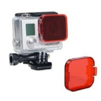 Red filter underwater for Gopro Hero 3 + 4