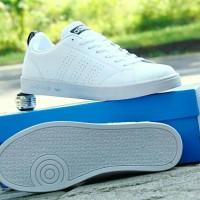 Sepatu Kets Adidas Neo Advantage GRADE ORI/ Full White/Cowok Cewek