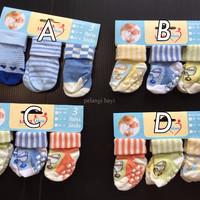 (PROMO KHUSUS) Kaos Kaki (socks) Bayi carter 3 in 1 Boy 0-12 months