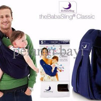SUPER SALE Gendongan Bayi (Baby Carrier) Baba Sling Classic Deep Blue