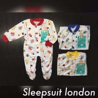 Sleepsuit atau Jumper Panjang Libby Buka Kaki / Tutup Kaki
