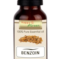 Happy Green Styrax Benzoin Essential Oil (10 ml) -100% Minyak Kemenyan