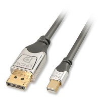 CROMO Mini DisplayPort to Display Port Cable Male to Male, 0.5m