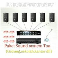 Paket Sound system Toa 2(Gedung/sekolah)