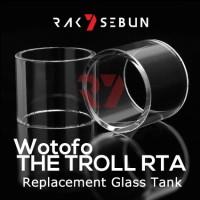 Wotofo The Troll RTA Glass Kaca Replacement Pyrex Tank Gelas 24