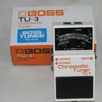 Efek Gitar Boss Chromatic Tuner TU 3 / TU3 / TU-3