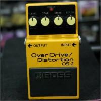 Efek Gitar Boss Overdrive Distortion OS 2 / OS2 / OS-2