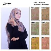Donna   Bunga   Ombre Viscose   Hijab/Jilbab/Pashmina/Kerudung /Scar