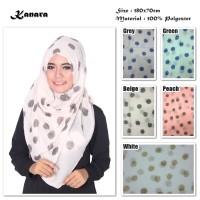 Hijab/Jilbab/Pashmina/Kerudung Kanara   Ombre Viscose  Polkadot