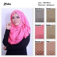 Rieke   Bunga Kecil   Ombre Viscose   Hijab/Jilbab/Pashmina/Kerudung