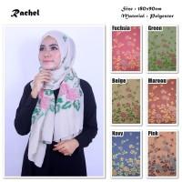 Hijab/Jilbab/Pashmina/Kerudung Rachel   Ombre Viscose  Mawar Rose