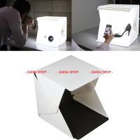LARGE BIG Mini Photo Studio Mini Simple Box Lipat Portable LED Lamp