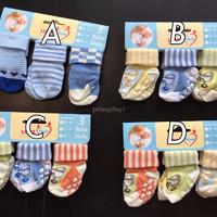 MURAH !! Kaos Kaki (socks) Bayi carter 3 in 1 Boy 0-12 months