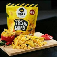 Irvin salted eggs / potato chips Size S