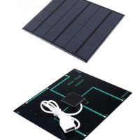 Solar Panel 6v 3,5wp 3,5 w watt peak 6 v volt 18650 Surya Cell DIY