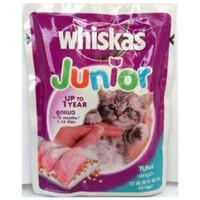 whiskas pouch junior tuna 85 gr