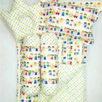 GIRL Baby Bed Set Bedcover Bantal Guling Alas Tidur Matras Bayi