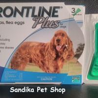 Obat Kutu Untuk Anjing FRONTLINE PLUS DOG 10 - 20 KG - 1 PIPET