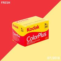 roll film Kodak colorplus 200 FRESH 07/2018