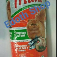 Maxi Cat Food / kucing / makanan / hobby / peliharaan / bagus / sehat