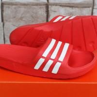 Sandal slop Adidas Duramo Merah