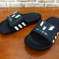 Sandal slop Adidas Messi X.15 Hitam