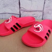 Sandal slop Adidas Predator Pink