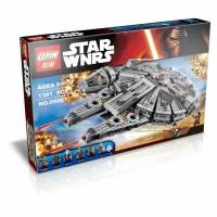 Lepin 05007 Star Wars Millenium Falcon 1381pcs
