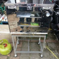 oven gas uk 60x40 + termometer