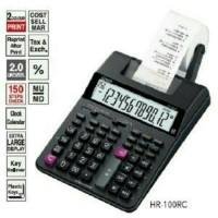 Kalkulator Print Struk Casio HR 100-RC
