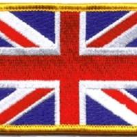 Patch United Kingdom Flag 6x4cm