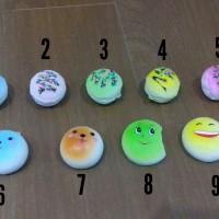 Squishy mini donut donat kue lucu gantungan kunci imut
