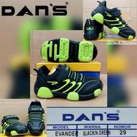 sepatu anak original DANS evander untuk sekolah/olahraga/joging/runing