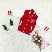 Baseball Jacket Anak (Red)