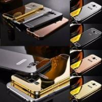 Aluminium Bumper Mirror Case Asus Zenfone 2 Laser 5 inci