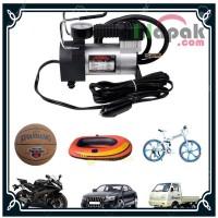 Pompa Ban Mobil Motor Sepeda Kasur Angin Elektrik Portable DC 12V