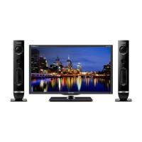 Polytron PLD-32T710 LED TV 32 + Speaker Tower Hitam - Khusus JAbode S