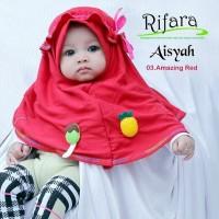 Jilbab Bayi Anak Rifara Aisyah XS (0-1 THN)